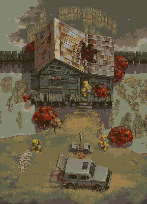 Field trip/pixelart