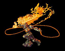 Как сделать огненную броню