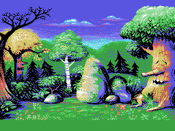 MSX forest