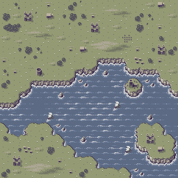 Overworld Map - The Realm