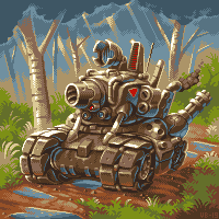 A slug/pixelart
