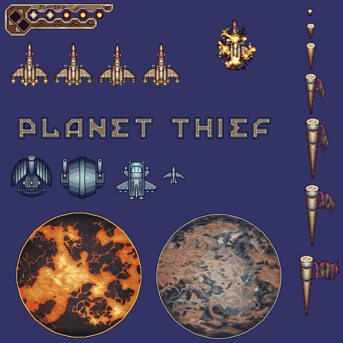 Planet Thief Assets
