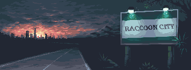 Raccoon City - Pixel Dailies