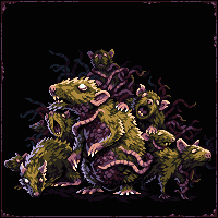 The Rat King/pixelart
