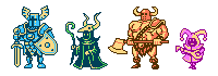 8-bit RPG Party