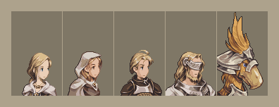 FF Tactics Portraits, Series 1