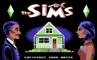 The Sims (Commodore 64 Mockup)