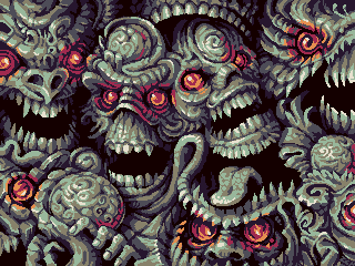 Skullmachine v2/pixelart