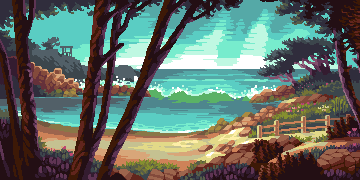 Pacific Grove | Slym Pixels/pixelart