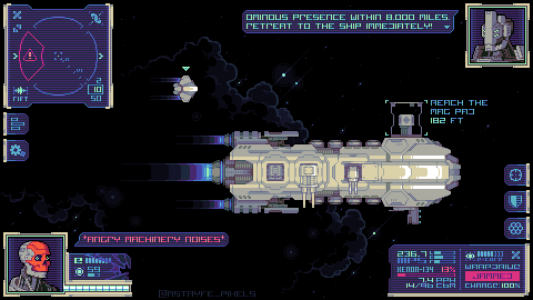 An Absolutely Random Space Mockup