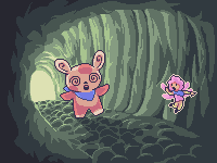 Spinda and the Pixie