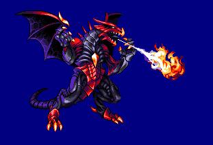 Standing Dragon/pixelart