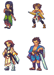 Suikoden Character Re-do's