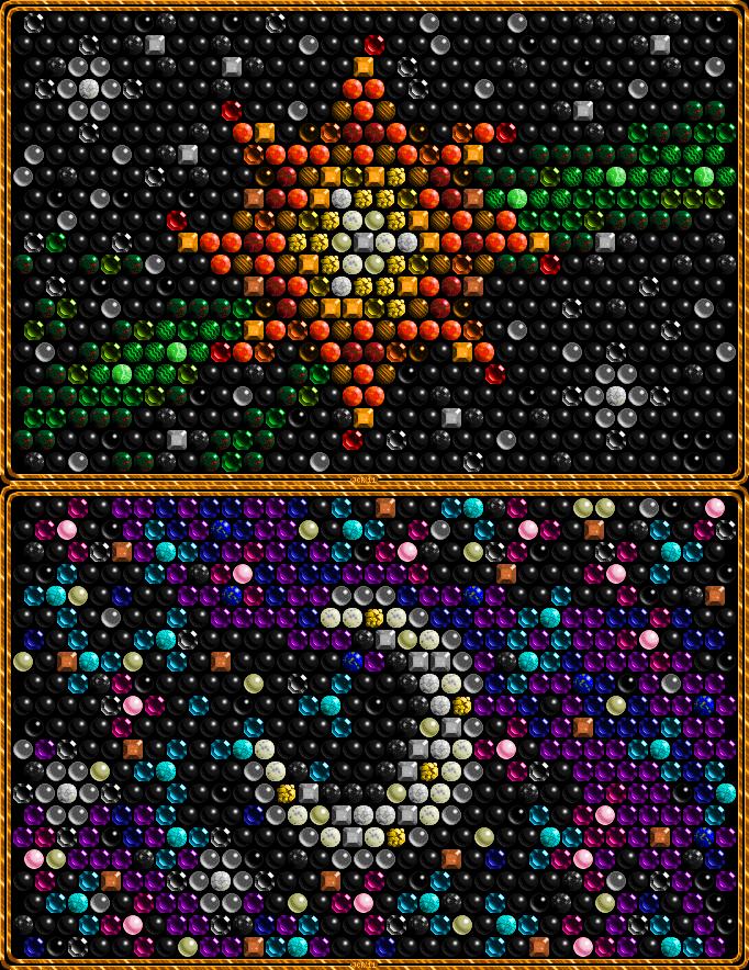 Sun Moon Mosaics At Pixeljointcom