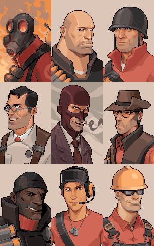 TF2 Portraits