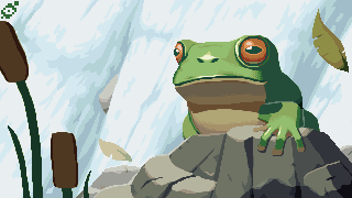 The Waterfall Frog