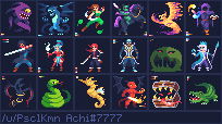 Some 32x32 characters