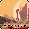 gallifrey icon/pixelart