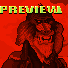 Gentlemandrill icon/pixelart