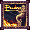 Gregory faces the dragon icon/pixelart