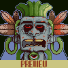 Garbage God icon/pixelart