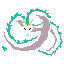 Pixel Dragon Haku