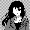 Hypnotic girl icon/pixelart