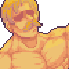 Escanor - Cruel Sun icon/pixelart