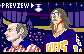 I'm Listening to the F&#*ing Song (Slap Shot - 1977) icon/pixelart