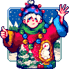 It'll be good even for the next year! icon/pixelart