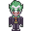 Joker icon/pixelart