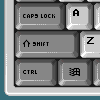 Yet another pixel keyboard icon/pixelart