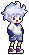 Killua - HxH icon/pixelart