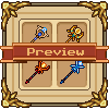 Magic Scepters icon/pixelart