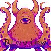 Octomonster icon/pixelart