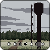 old place, old road icon/pixelart