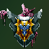 Shield of pomposity  icon/pixelart