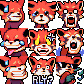 RED ROYALE [Twitch Emotes]