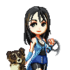 Rinoa and Angelo, FF8 icon/pixelart