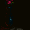 Flower Vase icon/pixelart