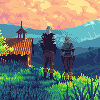 The Slopes of the Blessure icon/pixelart