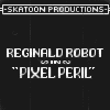 Reginald Robot in Pixel Peril icon/pixelart