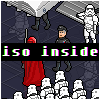 A visit to the Death Star icon/pixelart