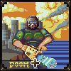 Doomguy chainsaw massacre