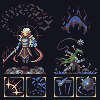 RED PIXELS 3rd collab knights icon/pixelart
