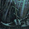 Deeper and deeper within the ocean... icon/pixelart