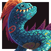 Jona's Monster icon/pixelart