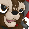 Roket Raccoon icon/pixelart