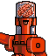 Killer Brain Bot icon/pixelart