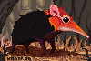 Elephant Shrew icon/pixelart